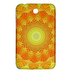 Sunshine Sunny Sun Abstract Yellow Samsung Galaxy Tab 3 (7 ) P3200 Hardshell Case