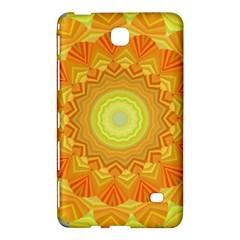 Sunshine Sunny Sun Abstract Yellow Samsung Galaxy Tab 4 (8 ) Hardshell Case  by Nexatart