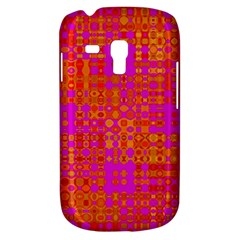 Pink Orange Bright Abstract Galaxy S3 Mini by Nexatart