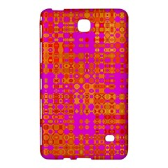 Pink Orange Bright Abstract Samsung Galaxy Tab 4 (7 ) Hardshell Case