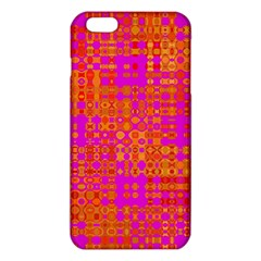 Pink Orange Bright Abstract Iphone 6 Plus/6s Plus Tpu Case
