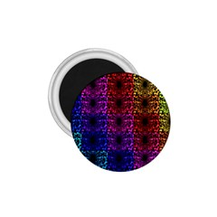 Rainbow Grid Form Abstract 1 75  Magnets by Nexatart