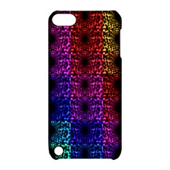 Rainbow Grid Form Abstract Apple Ipod Touch 5 Hardshell Case With Stand by Nexatart