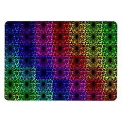 Rainbow Grid Form Abstract Samsung Galaxy Tab 10 1  P7500 Flip Case
