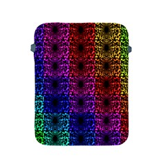 Rainbow Grid Form Abstract Apple Ipad 2/3/4 Protective Soft Cases by Nexatart