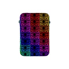 Rainbow Grid Form Abstract Apple Ipad Mini Protective Soft Cases