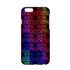 Rainbow Grid Form Abstract Apple Iphone 6/6s Hardshell Case by Nexatart