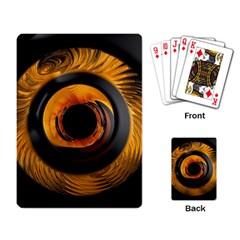 Fractal Pattern Playing Card