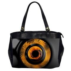 Fractal Pattern Office Handbags (2 Sides)  by Nexatart