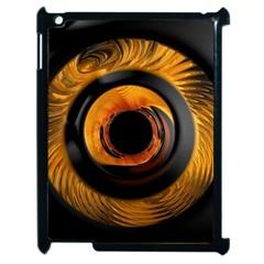 Fractal Pattern Apple Ipad 2 Case (black) by Nexatart