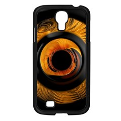 Fractal Pattern Samsung Galaxy S4 I9500/ I9505 Case (black) by Nexatart