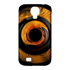 Fractal Pattern Samsung Galaxy S4 Classic Hardshell Case (pc+silicone)