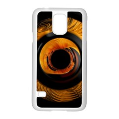 Fractal Pattern Samsung Galaxy S5 Case (white)