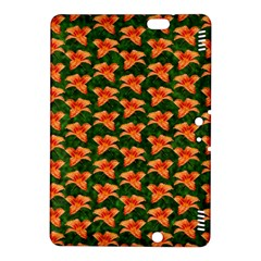 Background Wallpaper Flowers Green Kindle Fire Hdx 8 9  Hardshell Case