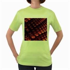 Fractal Mathematics Frax Hd Women s Green T Shirt