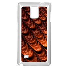 Fractal Mathematics Frax Hd Samsung Galaxy Note 4 Case (white)