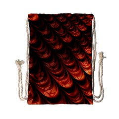 Fractal Mathematics Frax Hd Drawstring Bag (small) by Nexatart