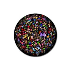 Network Integration Intertwined Magnet 3  (round) by Nexatart