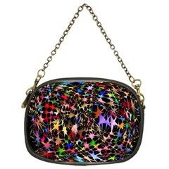 Network Integration Intertwined Chain Purses (one Side)  by Nexatart