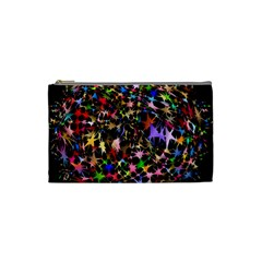 Network Integration Intertwined Cosmetic Bag (small)  by Nexatart