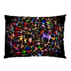Network Integration Intertwined Pillow Case (two Sides) by Nexatart