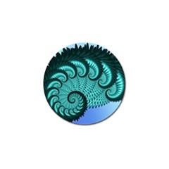 Fractals Texture Abstract Golf Ball Marker (10 Pack)