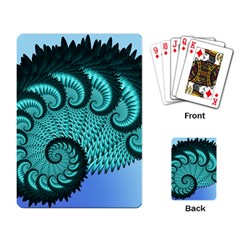 Fractals Texture Abstract Playing Card