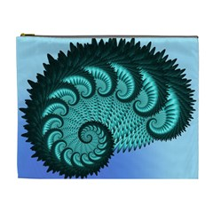Fractals Texture Abstract Cosmetic Bag (xl)