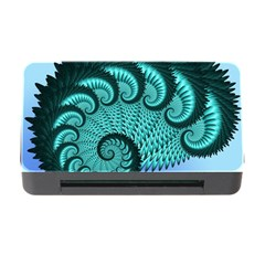 Fractals Texture Abstract Memory Card Reader With Cf by Nexatart