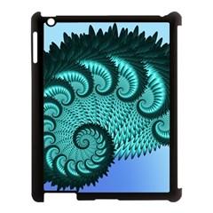 Fractals Texture Abstract Apple Ipad 3/4 Case (black)