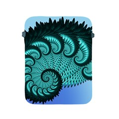 Fractals Texture Abstract Apple Ipad 2/3/4 Protective Soft Cases by Nexatart