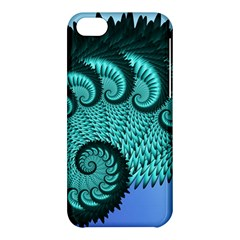 Fractals Texture Abstract Apple Iphone 5c Hardshell Case by Nexatart