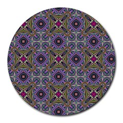 Vintage Abstract Unique Original Round Mousepads by Nexatart