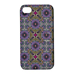 Vintage Abstract Unique Original Apple Iphone 4/4s Hardshell Case With Stand by Nexatart