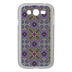 Vintage Abstract Unique Original Samsung Galaxy Grand Duos I9082 Case (white) by Nexatart