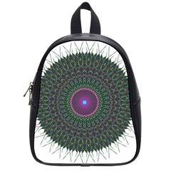 Pattern District Background School Bags (small)  by Nexatart