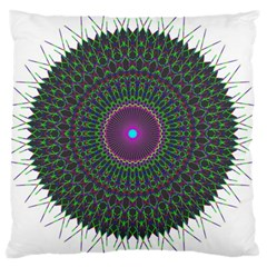 Pattern District Background Large Cushion Case (two Sides) by Nexatart