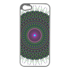 Pattern District Background Apple Iphone 5 Case (silver)