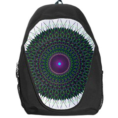 Pattern District Background Backpack Bag by Nexatart