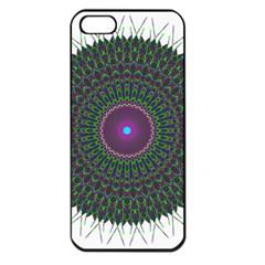 Pattern District Background Apple Iphone 5 Seamless Case (black)