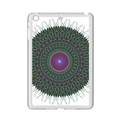 Pattern District Background Ipad Mini 2 Enamel Coated Cases by Nexatart