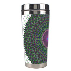 Pattern District Background Stainless Steel Travel Tumblers