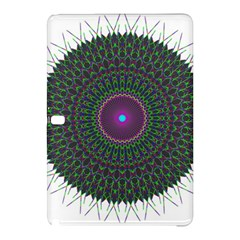 Pattern District Background Samsung Galaxy Tab Pro 10 1 Hardshell Case by Nexatart