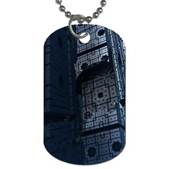 Graphic Design Background Dog Tag (One Side) by Nexatart