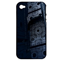 Graphic Design Background Apple Iphone 4/4s Hardshell Case (pc+silicone)