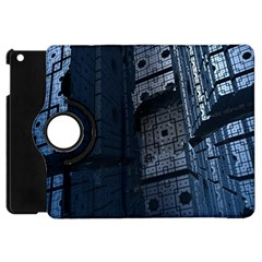Graphic Design Background Apple Ipad Mini Flip 360 Case by Nexatart
