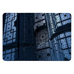 Graphic Design Background Samsung Galaxy Tab 8 9  P7300 Flip Case by Nexatart