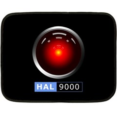 Hal 9000 Double Sided Fleece Blanket (mini)