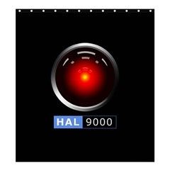 Hal 9000 Shower Curtain 66  X 72  (large)