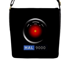 Hal 9000 Flap Messenger Bag (l)